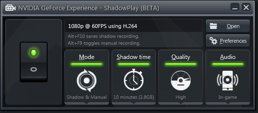 NVIDIA GeForce Experience Driver